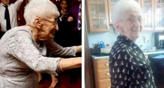 Mit 86 Jahren beschloss sie, etwas gegen ihre Skoliose zu unternehmen: Dank Yoga ging die alte Frau wieder spazieren