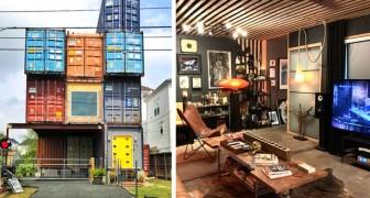 Quest'uomo ha unito 11 container navali trasformandoli in una casa spaziosa e moderna