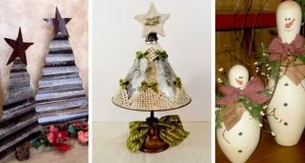 17 idee di riciclo facili ed originali per rendere il vostro Natale indimenticabile