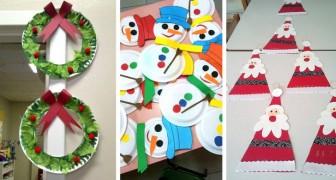 10 lavoretti di Natale facili e divertenti da realizzare con i bambini