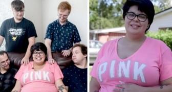 Questa ragazza di 20 anni è incinta ma ama 4 uomini: ha deciso che cresceranno il bambino tutti assieme