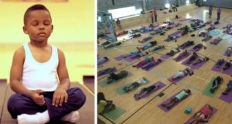 Eine Alternative zur Bestrafung in der Schule: ein Meditationsprogramm, das den Kindern hilft, mit Stress umzugehen