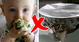 Non avvolgete il cibo per i bambini nella carta stagnola o nell'alluminio: l'allarme del Ministero della Salute