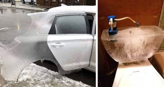 16 foto da brivido che mostrano gli effetti del grande freddo invernale