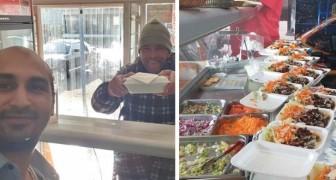 Sie verbieten ihm, den Obdachlosen kostenloses Essen zu geben: Die Händler befürchten, dass die Nachbarschaft schmutzig werden könnte
