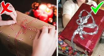 Ricevere un regalo impacchettato male rende le persone più felici: uno studio lo dimostra
