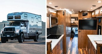 Ce camping-car est idéal pour ceux qui veulent explorer le monde en toute saison sans renoncer à leur propre espace
