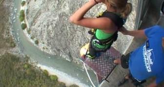 Bungee jumping à Nevis