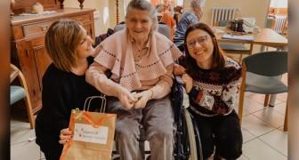 I Nipoti di Babbo Natale: fanno felici gli anziani che vivono da soli donandogli ciò che più desiderano