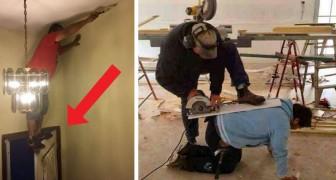 20 photos absurdes de personnes qui n'ont jamais assisté à un cours de sécurité au travail