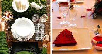 16 idee per apparecchiare la tavola della Vigilia di Natale in modo elegante e originale