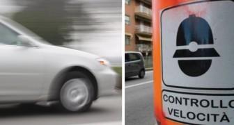 Een man heeft het nummerbord van zijn ex-vrouw gekloond en reed dagenlang hard langs de flitspalen van de stad
