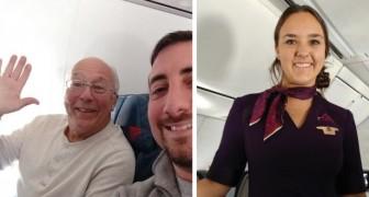 Il achète un billet pour tous les vols sur lesquels sa fille travaille comme hôtesse de l'air, et ce pour ne pas la laisser seule le jour de Noël