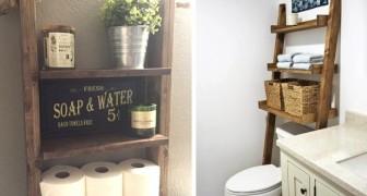 25 soluzioni pratiche e decorative per fare ordine in bagno e sfruttare gli spazi inutilizzati