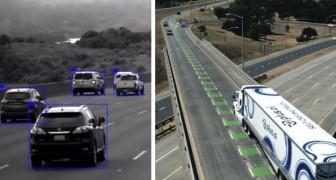 Ein selbstfahrender Lastwagen war drei Tage lang unterwegs, um eine Ladung Butter über eine Entfernung von 3.000 km zu liefern