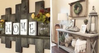 39 idee da provare per decorare la casa con un affascinante stile rustico