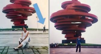 Un uomo riconosce se stesso in una foto di sua moglie scattata 11 anni prima che si conoscessero