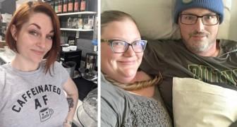 Questa ragazza ha chiuso la sua caffetteria per dare una mano al locale del suo concorrente malato terminale