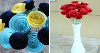 Il tutorial per realizzare fantastici fiori di carta perfetti per decorare in ogni occasione