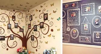 15 modi originali per decorare gli ambienti di casa usando le nostre foto più belle