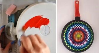 3 metodi semplici e creativi per trasformare le vecchie pentole in colorate decorazioni per la casa