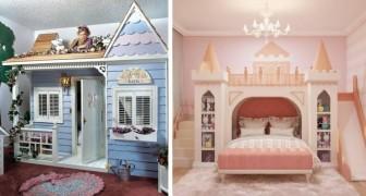 16 modèles originaux de lits superposés que nous étions loin d'imaginer pendant notre enfance