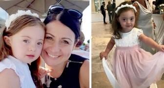 A história de Francesca, uma menina de 4 anos com síndrome de Down que está conquistando as passarelas do mundo