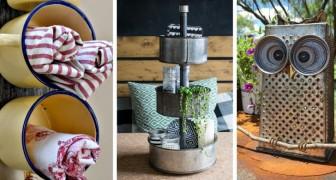 13 idee creative per riciclare vecchi oggetti e arredare con allegria qualsiasi stanza di casa