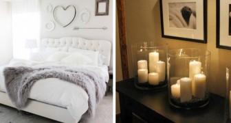 19 idee economiche per dare un tocco di romanticismo alla camera da letto