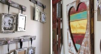 13 ottime idee per arredare la casa in stile rustico con un tocco di romanticismo