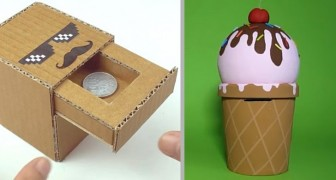 4 simpatiche idee per realizzare deliziosi salvadanai fai-da-te, ideali per custodire i tesori dei bambini