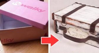 11 oggetti super-creativi che potete ricavare da una comune scatola di scarpe