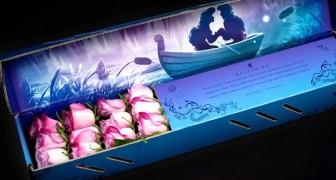 Questa azienda ha creato degli eleganti bouquet di rose ispirati alle storie e ai colori dei film Disney