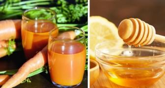 Carottes, miel et citron : un concentré de vitamines pouvant aider à soulager les symptômes de la toux et du rhume
