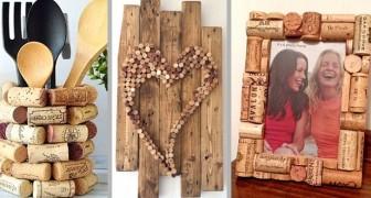 18 idee una più bella dell'altra per decorare con i tappi di sughero