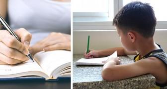 Von Hand zu schreiben verbessert das Gedächtnis und hilft beim Lernen: eine Studie bestätigt es