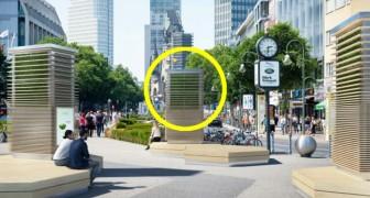 A Londra nascono i City Trees, alberi artificiali che assorbono il biossido di azoto e ripuliscono l'aria