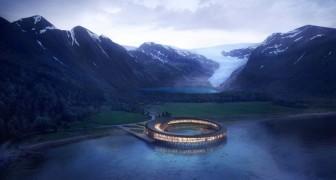 Svart: l'albergo ad altissima efficienza energetica situato ai piedi di un ghiacciaio norvegese