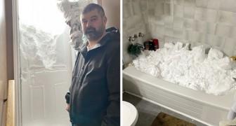 Diese Bilder zeigen die ganze Kraft des außergewöhnlichen Schneesturms, der Kanada getroffen hat