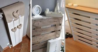 17 soluzioni ingegnose e originali per coprire i termosifoni e aggiungere un tocco di stile alla nostra casa