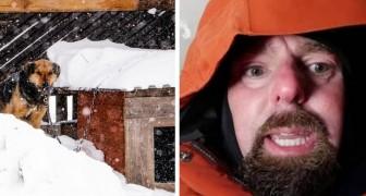 Ce vétérinaire a voulu passer la nuit dans une niche pour montrer à quel point les chiens souffrent pendant l'hiver