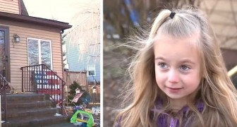 A little 6-year-old girl wakes up with a burning sensation in her eyes and saves her whole family from a fire