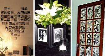 Arredare con le foto: 18 soluzioni creative per esporre i nostri ricordi più belli in casa