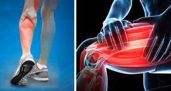 4 consigli per alleviare il dolore dei crampi muscolari notturni, un problema tanto diffuso quanto fastidioso
