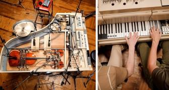 Diese Jungs haben ein spezielles Hybrid-Klavier geschaffen, das es Ihnen ermöglicht, 20 Instrumente in einem zu spielen