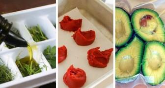 Uova, salsa di pomodoro e non solo: 11 cose che spesso non pensiamo di poter congelare in freezer