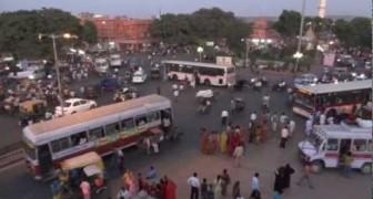 Les rues indiennes rendraient fou le plus chevronné des automobilistes!