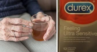 Diese Oma kaufte versehentlich eine Maxi-Packung Kondome und dachte, es seien Teebeutel