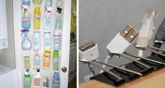 14 trovate ingegnose per riordinare alla perfezione qualsiasi stanza di casa