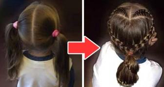 Il tutorial passo dopo passo per creare una splendida treccia di capelli a forma di cuore